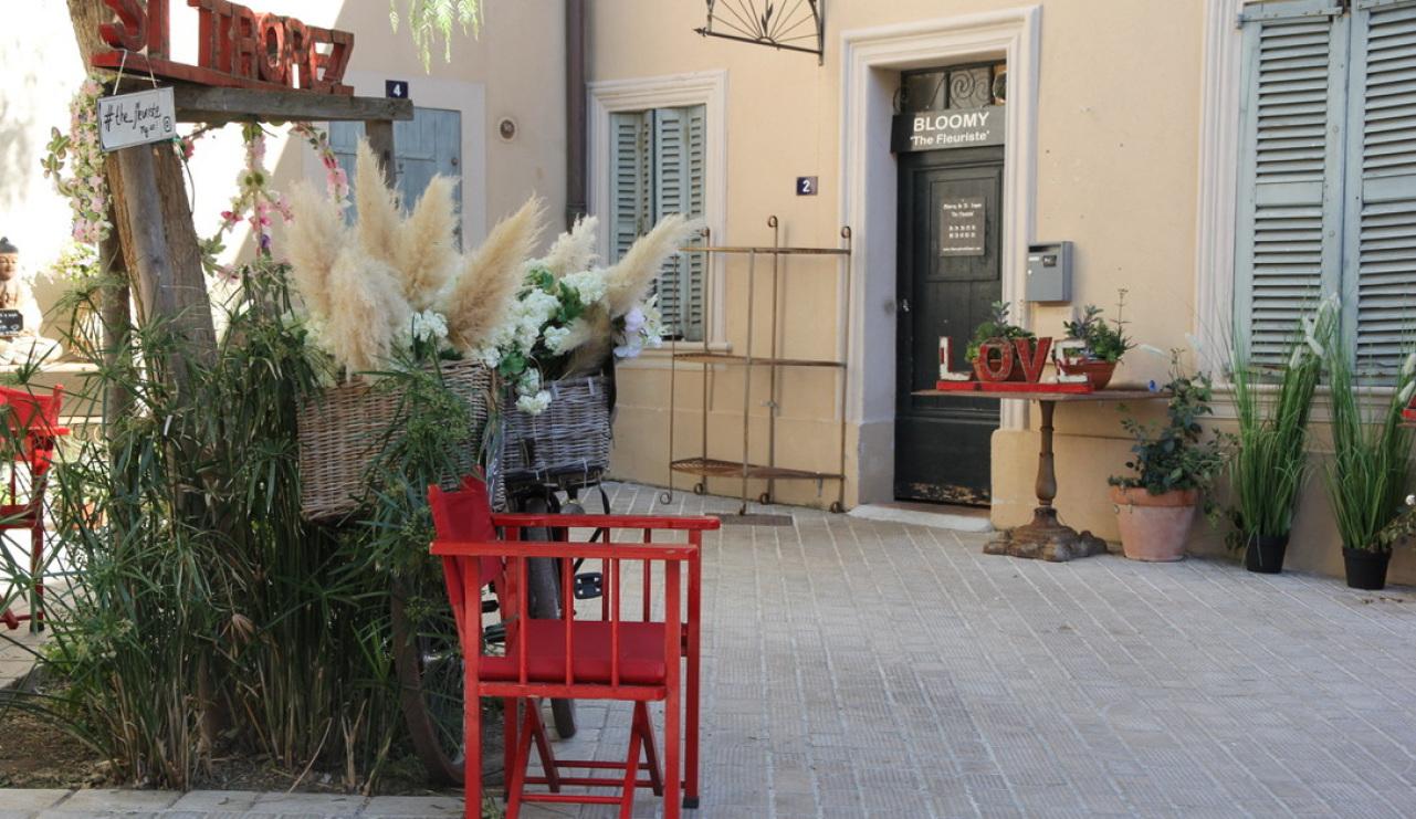 Blumenladen in den Gässchen von Saint-Tropez