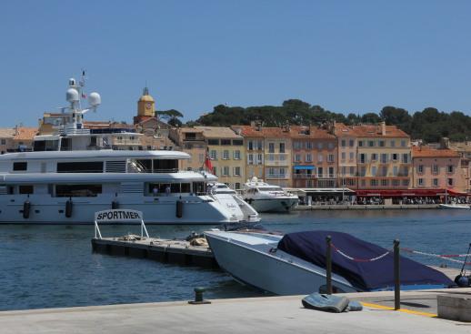 Der Hafen von Saint-Tropez