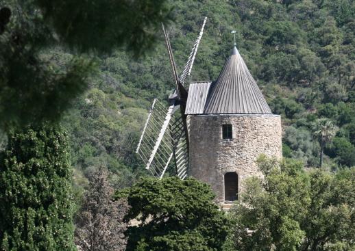 Das Windrad von Grimaud