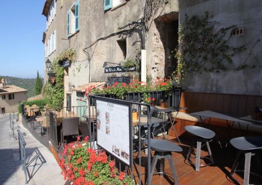 Kleines Restaurant in Ramatuelle