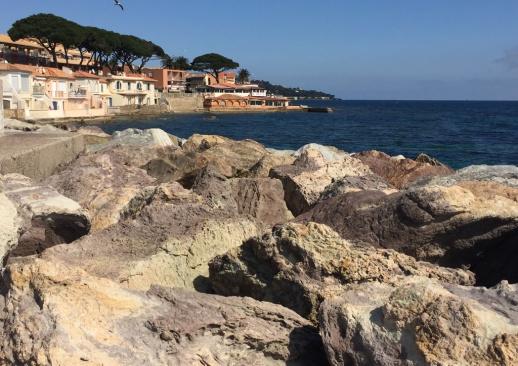 Villen an der Küste von Sainte Maxime